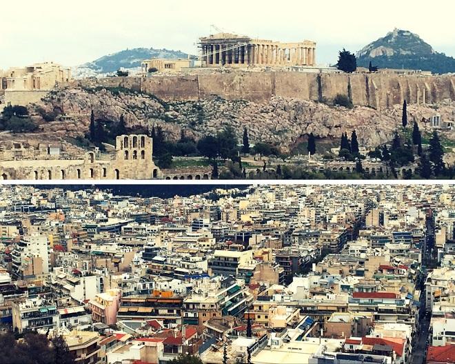 Poleciałam do Aten z wizytą rodzinna i ten cel był najważniejszy. Oczywiście, że chciałam zobaczyć stolicę Grecji, ale nigdy nie pociągały mnie szczególnie wielkie miasta. Przytłaczały mnie swoimi wymiarami, wydawały się pozbawione duszy i możliwości kontaktu z ludźmi. A ja to lubię.