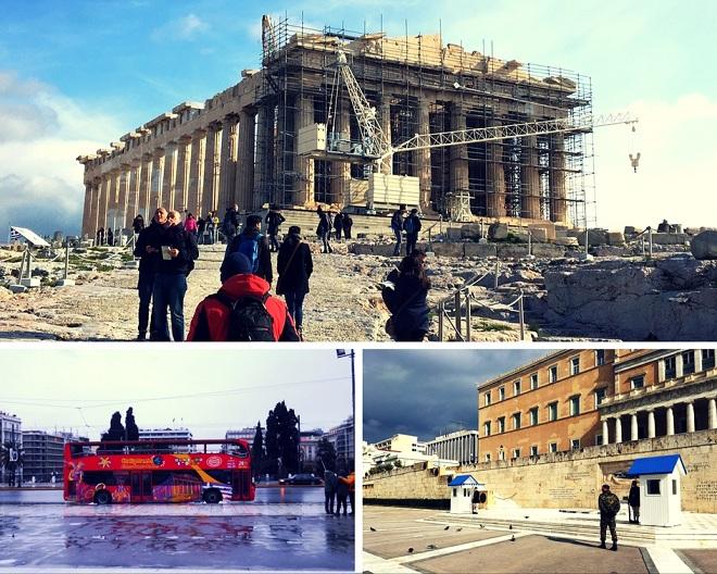 """Byłam w Atenach 20 lat temu. Po prostu """"byłam"""". Autokar zawiózł nas pod bramę Akropolu, przewodnik z parasolem w ręku, nieustający gest stukającego palca wskazującego w tarczę zegarka. Czas wyliczony, ograniczony."""