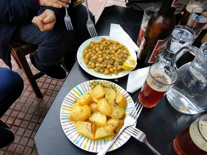 ziemniaki i rewithia